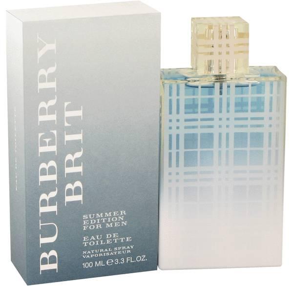 Burberry brit summer fragrances perfumes, colognes, parfums.