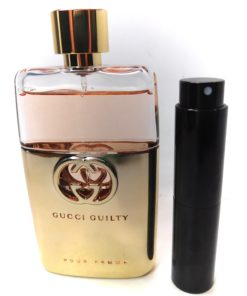 Gucci Guilty Pour Femme Eau de Parfum 8ml Travel Atomizer Spin Spray Perfume New