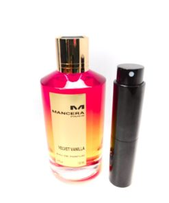 Mancera Velvet Vanilla 8ml Travel Atomizer