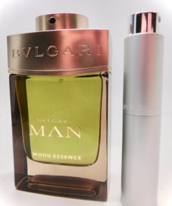 Bvlgari Man Wood Essence 8ml Travel Atomizer