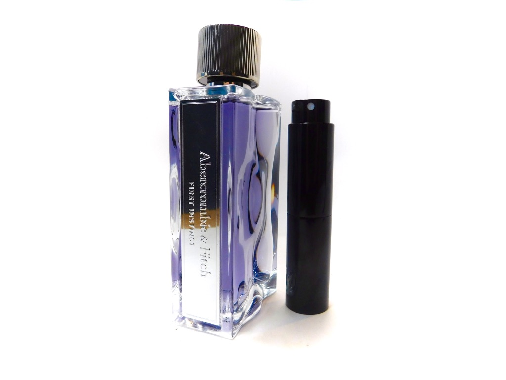 991608857 ABERCROMBIE & FITCH FIRST INSTINCT EDT 8ml Mens TRAVEL ATOMIZER SAMPLE  COLOGNE