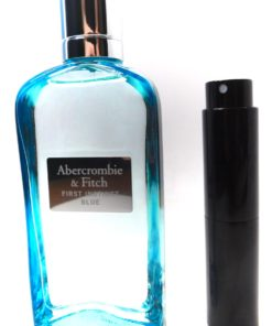 First Instinct Blue Abercrombie& Fitch 8ml Parfum Travel Atomizer Spray Womens