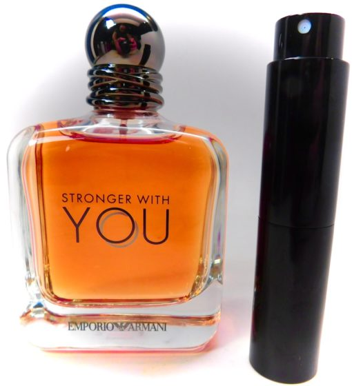 EMPORIO ARMANI Stronger With You 8ml Travel Atomizer Spray Sample Cologne decan