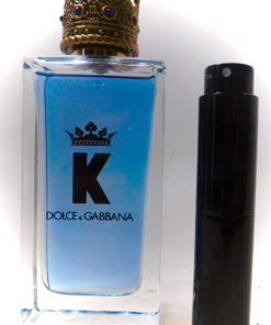 DOLCE & GABBANA K 8ml Travel Atomizer Sample Spray Decant Cologne For Men Hot!