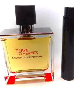 Terre D' Hermes Parfum Sample 8ml pure perfume travel atomizer cologne spray