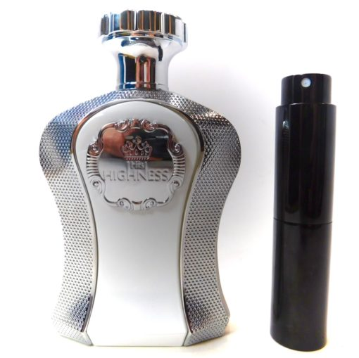 Afnan His Highness White 8ml Travel Atomizer Parfum Cologne