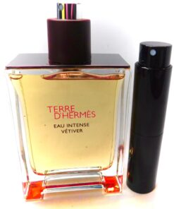 Terre D'Hermes Eau Intense Vetiver Hermes 8ml travel atomizer sample spray fresh