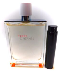 Hermes Terre D'Hermes Eau Tres Fraiche 8ml travel atomizer ultra fresh cologne