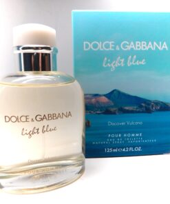 Light Blue Discover Vulcano POUR HOMME Dolce & Gabbana cologne 4.2 oz 125 ML