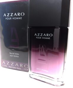Azzaro Pour Homme Hot Pepper 3.4oz Sexy Fragrance Gem Made In France Hot!