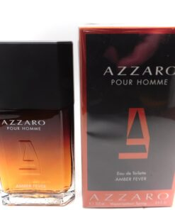 AZZARO AMBER FEVER 3.4oz Ultimate long lasting lady killer cologne brand New