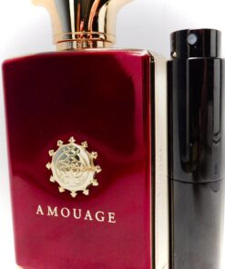 Amouage JOURNEY MAN 8ml Travel Atomizer Peppery Tobacco Incense 12 Hour Cologne
