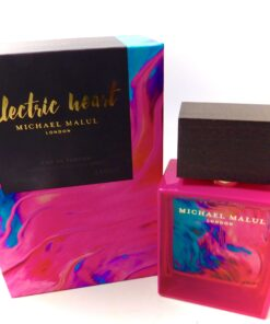 MICHAEL MALUL ELECTRIC HEART Parfum hundred roses floral bomb perfume 10 hours
