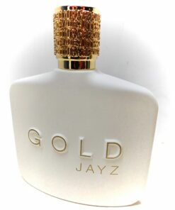 JAY-Z Jayz GOLD 3.0oz 90ml Cologne Blueberry Ginger Fresh Compliments Getter Tester