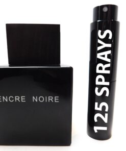 LALIQUE ENCRE NOIRE EDT 8ML TRAVEL SPRAY ATOMIZER MENS FRAGRANCE