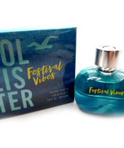 Full bottle of Hollister Festival Vibes for Him 3.4oz